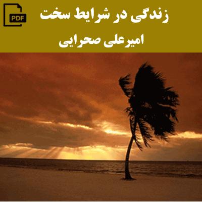 زندگی در شرایط سخت - امیر علی صحرایی