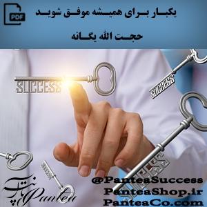 یکبار برای همیشه موفق شوید - حجت الله یگانه